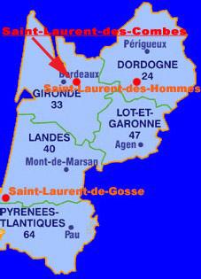 Saint-Laurent-des-Combes (33330 - Gironde)