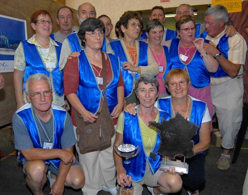Saint-Laurent-en-Gâtines, vaiqueurs pour la deuxième année consécutive.