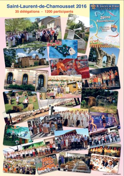 Affiches des rassemblements 1991 à  2016