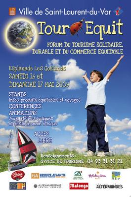 """1er forum du Tourisme solidaire et du Commerce équitable """"TOUR EQUIT"""""""