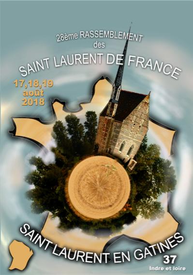 28° rassemblement des Saint-Laurent de France - information n°1