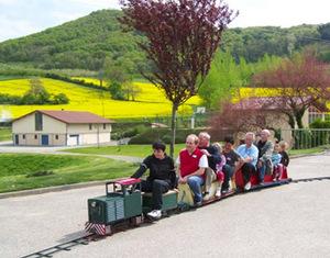 Mini train des Monts du Lyonnais