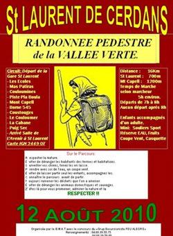 Club de randonnées de Saint-Laurent-de-Cerdans