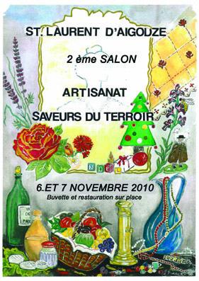 2° salon - Artisanat et Saveurs du terroir -  Saint-Laurent-d'Aigouze (30)