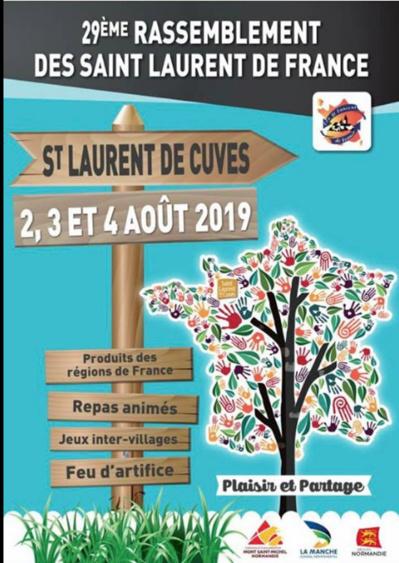 29° rassemblement des Saint-Laurent de France