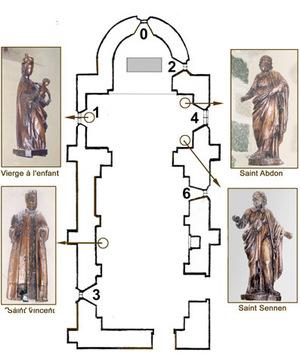 Chapelle romane de Saint-Vincent (SL-d'Agny)
