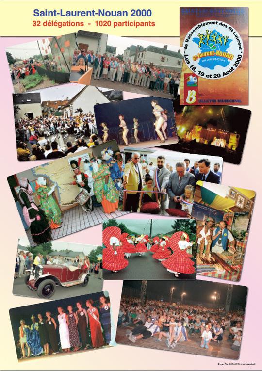 Affiches des rassemblements 1991 à 2013