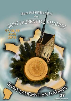 Diffusion vidéo du 28°rassemblement à Saint-Laurent-en-Gâtines.
