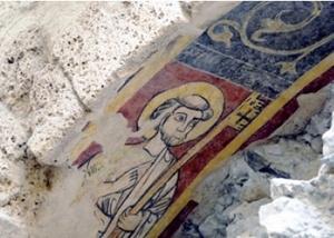 Peinture médiévale : saint Pierre