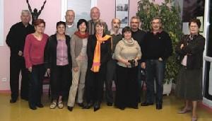 Le conseil d'administration s'est réuni à Saint-Laurent-en-Gâtines.