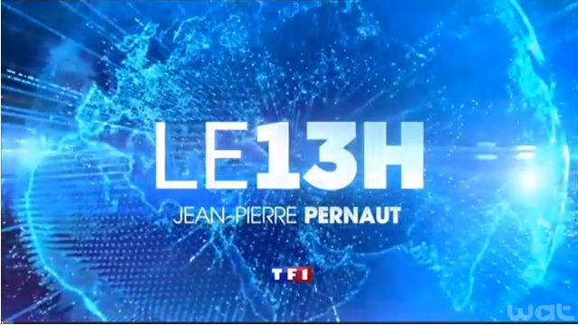 Saint-Laurent-de-Cerdans au JT sur TF1