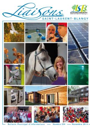 Bulletin municipal N°254 - novembre 2014