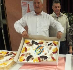 Jean-Bernard Dersigny président de l'association locale.