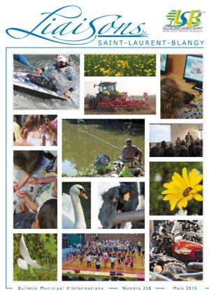 Bulletin mubicipal N° 258 - mars 2015