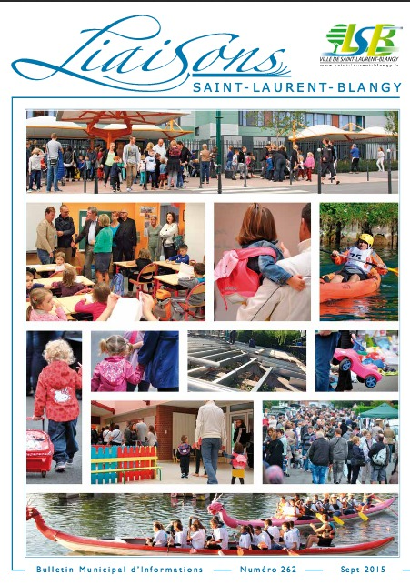 Bulletin municipal N° 262 - septembre 2015