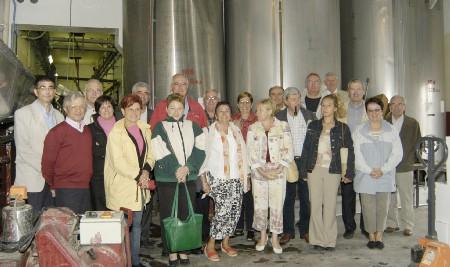 Visite de la cave des Vignerons de Saint-Laurent-de-Carnols