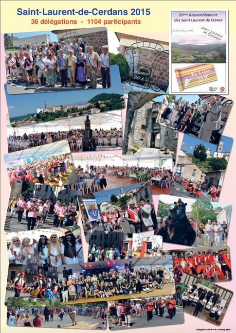 Affiches des rassemblements 2014 et 2015