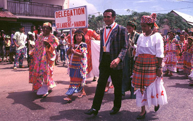 2° Grand Rassemblement - juillet 1993 - Saint-Laurent-du-Maroni (97320)  Guyane