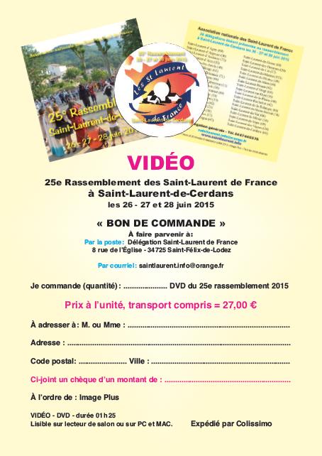 Vidéo du 25° rassemblement - Saint-Laurent-de-Cerdans