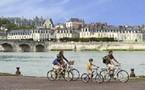 Les châteaux à vélo.