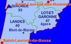 Saint-Laurent-de-Gosse (40390 - Landes) Région-Aquitaine