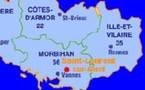 Saint-Laurent-sur-Oust (56140 - Morbihan) Région: Bretagne